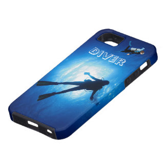 スキューバダイバー iPhone SE/5/5s ケース