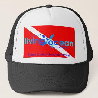 スキューバダイビングのトラック運転手の帽子 キャップ