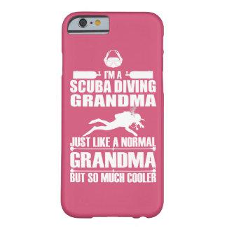 スキューバダイビングの祖母のiPhone6ケースのピンク Barely There iPhone 6 ケース