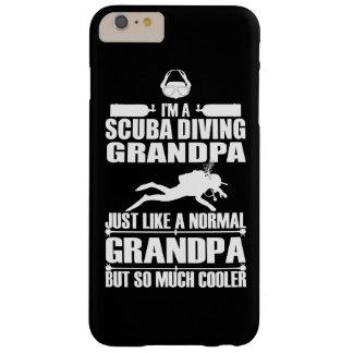 スキューバダイビングの祖父のiPhone 6のプラスの場合の暗闇 Barely There iPhone 6 Plus ケース