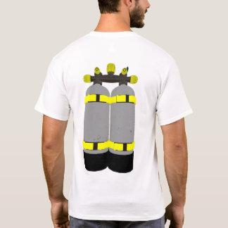 スキューバダイビングタンクダイバーのTシャツ Tシャツ