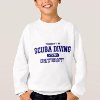 スキューバダイビング大学 スウェットシャツ