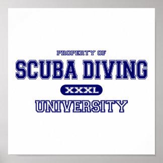 スキューバダイビング大学 ポスター