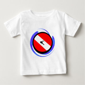 スキューババッジ ベビーTシャツ