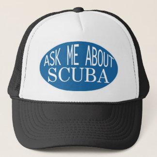スキューバ帽子について私に尋ねて下さい キャップ