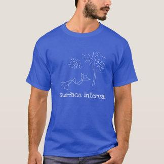 スキューバ表面間隔 Tシャツ