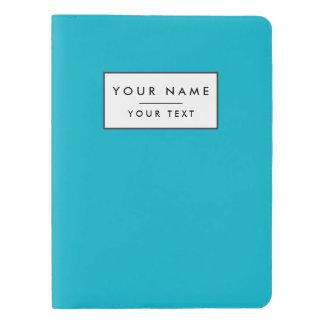 スキューバ青い上限の無地 エクストララージMoleskineノートブック