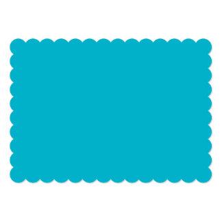 スキューバ青い上限の無地 カード