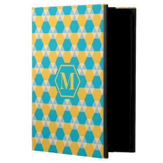 スキューバ青か黄色の三角形ジンクスのiPadの箱 Powis iPad Air 2 ケース