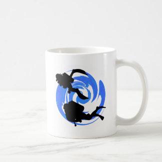 スキューバ風下 コーヒーマグカップ