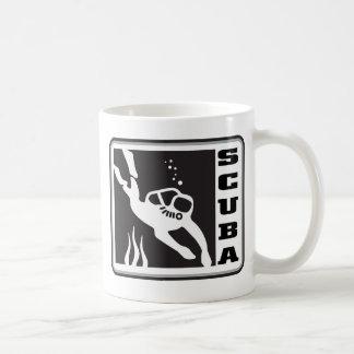 スキューバ コーヒーマグカップ