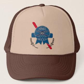 スキーかっこいいPabstの一流のトラック運転手の帽子 キャップ