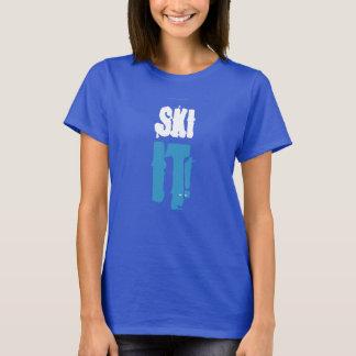 スキーそれ! Tシャツ