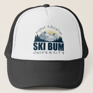 スキーつまらない大学帽子 キャップ