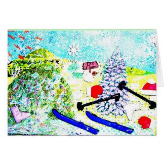 スキーコラージュ カード