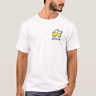 スキーゴーグル Tシャツ
