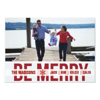 「スキーパトロール」の(深紅)休日の写真カード カード