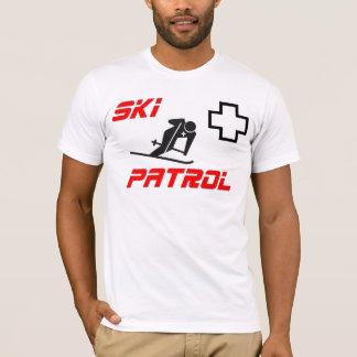 """スキーパトロール- """"スキーヤー"""" Tシャツ"""