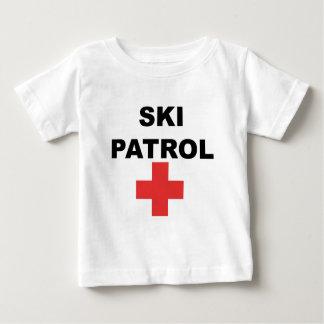 スキーパトロール ベビーTシャツ