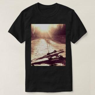 スキーヤーのためのTシャツ Tシャツ