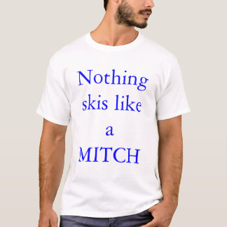 スキーヤーの確執 Tシャツ
