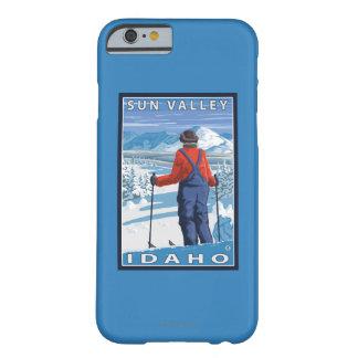 スキーヤーの賞賛- Sun Valley、アイダホ Barely There iPhone 6 ケース