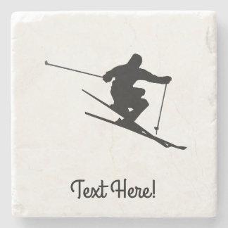 スキーヤー ストーンコースター