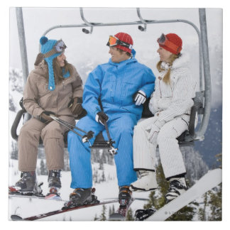 スキーリフト、イギリスホイスラーBlackcombの人々 タイル