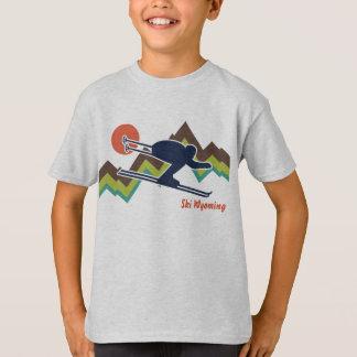 スキーワイオミング Tシャツ
