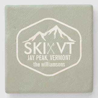 スキーヴァーモント素朴なジェイのピーク、Stowe、Killington ストーンコースター