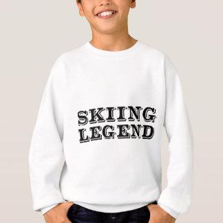 スキー伝説 スウェットシャツ