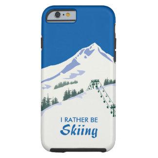 スキー冬場面iPhoneの場合 ケース