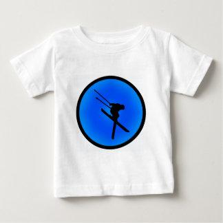スキー夢 ベビーTシャツ