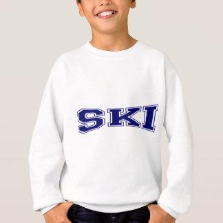 スキー大学スタイル スウェットシャツ