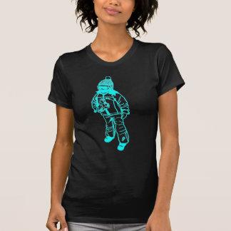 スキー女の子 Tシャツ