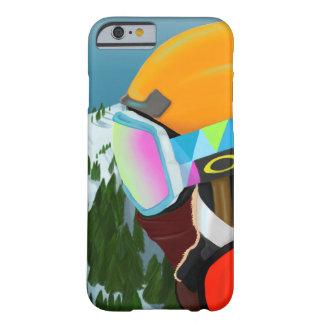スキー季節-場合 BARELY THERE iPhone 6 ケース
