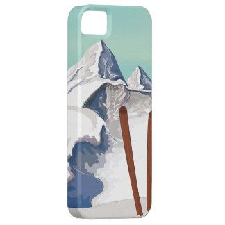 スキー山 iPhone SE/5/5s ケース