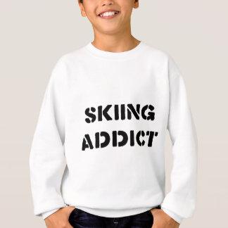 スキー常習者 スウェットシャツ