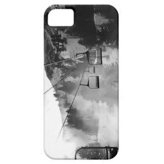 スキー椅子の雪の箱 iPhone SE/5/5s ケース