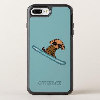 スキー犬 オッターボックスシンメトリーiPhone 8 PLUS/7 PLUSケース