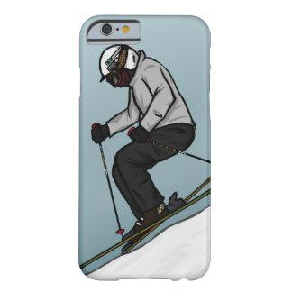スキー病気-場合 BARELY THERE iPhone 6 ケース