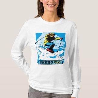 スキー石! Tシャツ