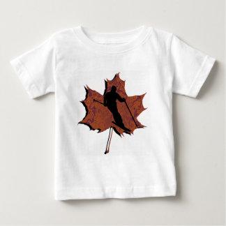 スキー葉の優美 ベビーTシャツ