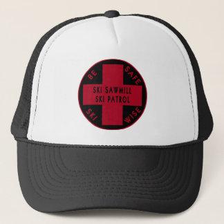 スキー製材所のスキーパトロールのロゴの帽子 キャップ