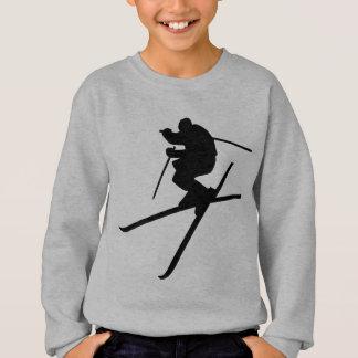 スキー-スキーフリースタイル スウェットシャツ