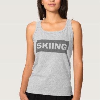 スキー タンクトップ
