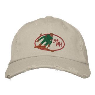 スキーNHによって刺繍される帽子 刺繍入りキャップ