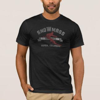 スキーSnowmassコロラド州米国 Tシャツ