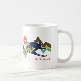 スキーSt.アントン コーヒーマグカップ
