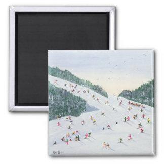 スキーVening 1995年 マグネット